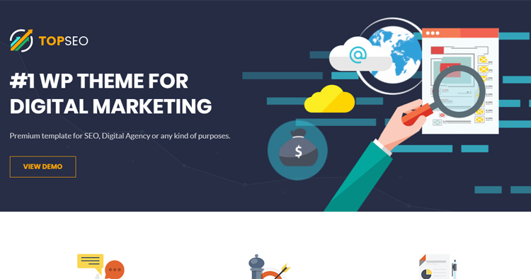 TopSEO - SEO, Digital Marketing WordPress Theme