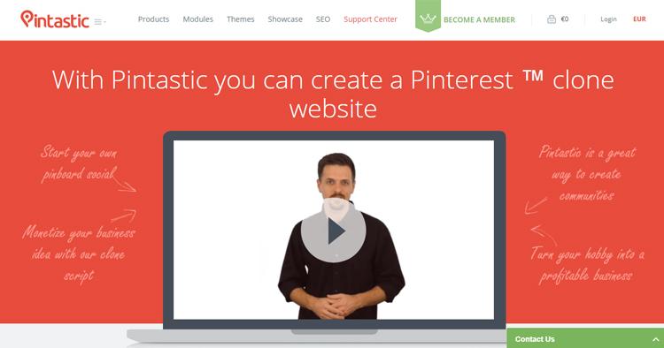Pintastic - Pinterest Clone Script 2.3