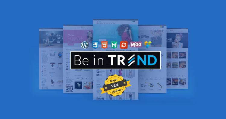 Trend - Multipurpose / Fashion / Restaurant / Construction / Modern Shop WooCommerce WordPress Theme