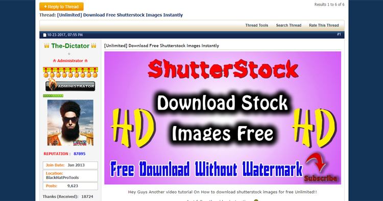 Download Free Shutterstock Images Instantly