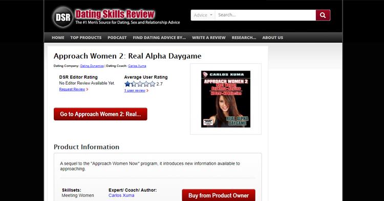 Approach Women 2: Real Alpha Daygame