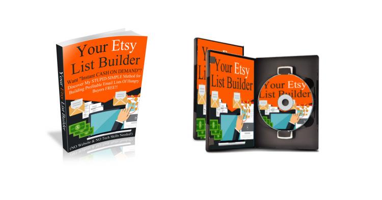 YOUR ETSY LIST BUILDER + SECRET SHOP PROMOTION KIT + BONUS