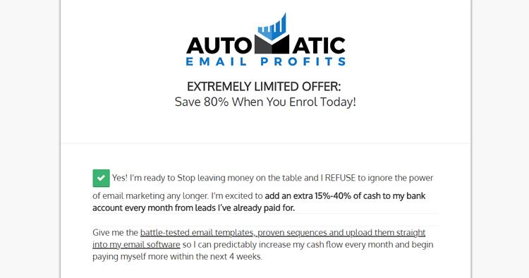 Automatic Email Profits
