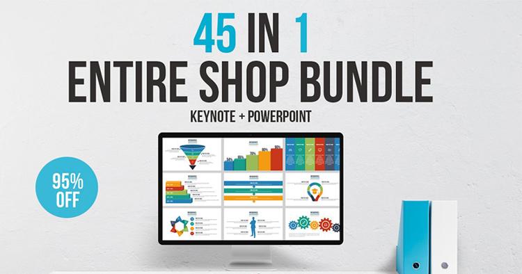 Entire Shop - Powerpoint + Keynote