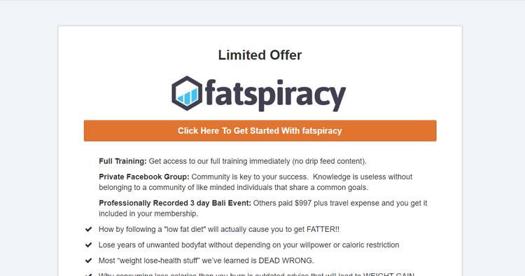 Fatspiracy
