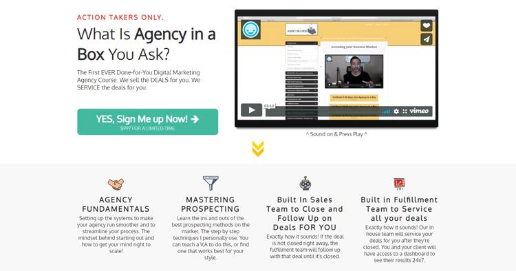 Agency in a Box