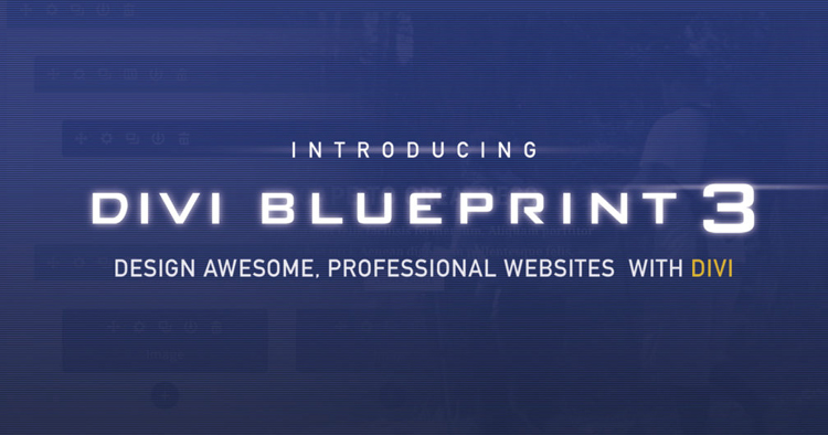Divi Blueprint 3